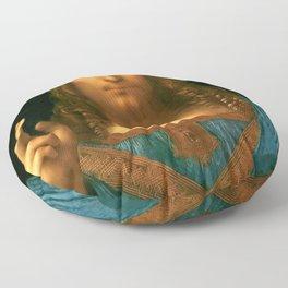 "Leonardo da Vinci ""Salvator Mundi"" Floor Pillow"