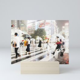 The Shibuya Crossing Mini Art Print