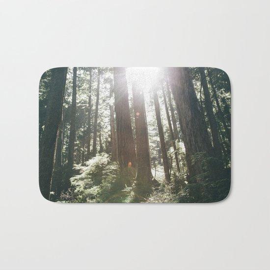 Sunny Forest Bath Mat