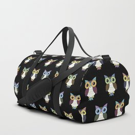 Fancy owl Duffle Bag