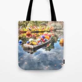 Floating Glass Tote Bag