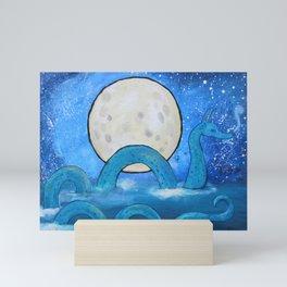 The Sea Serpent Mini Art Print