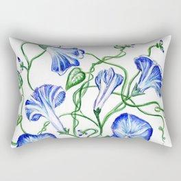 Morning Glory Vine Rectangular Pillow