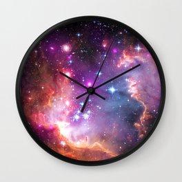 Angelic Galaxy Wall Clock