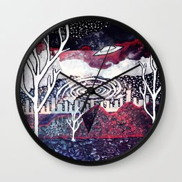Night Travels revisited Wall Clock