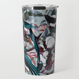 Floral and Birds XXIV Travel Mug