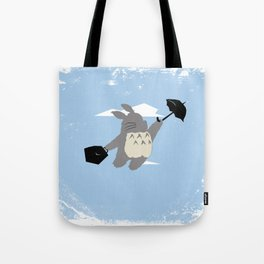 Totoro Poppins Tote Bag