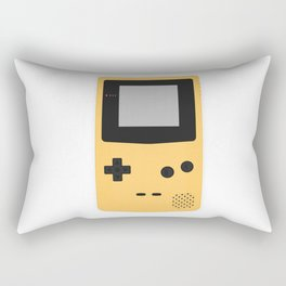 Gameboy Colour Yellow Rectangular Pillow