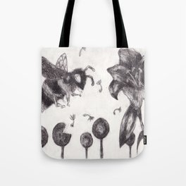 Bee Happy 3 Tote Bag