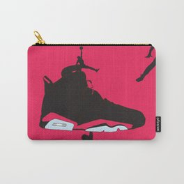 Jordan 6 Black Infrared Carry-All Pouch
