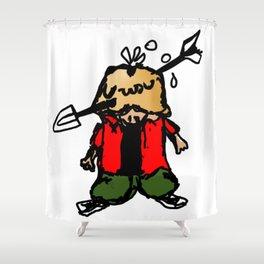 Pene Piola Shower Curtain