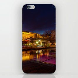Budapest reflections iPhone Skin