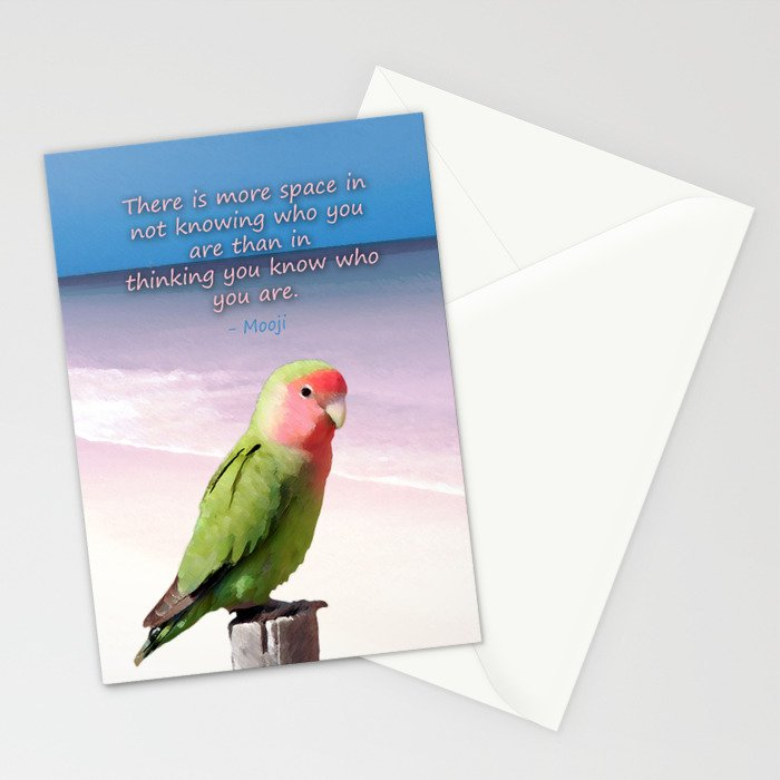 "Posh Parrot - ""Space"" Stationery Cards"