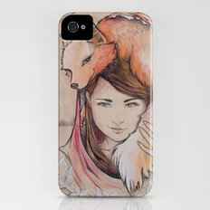 Safe in My Red Riding Hood, Balsa Slim Case iPhone (4, 4s)