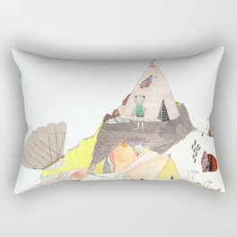 Kids Discover Magic Mountain Rectangular Pillow