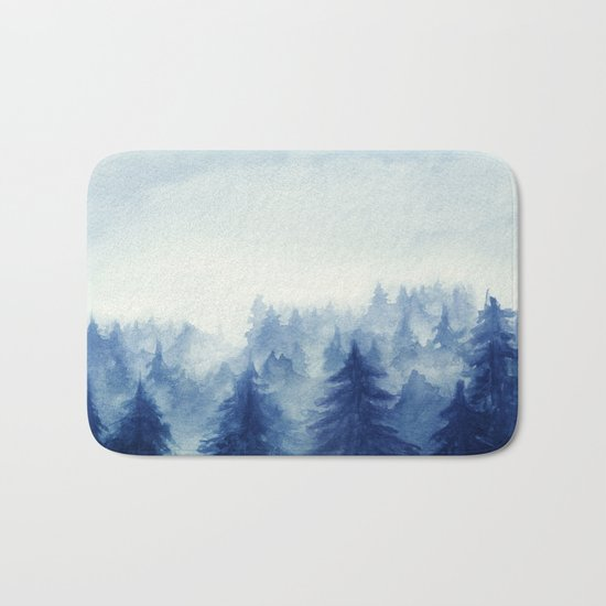 Into The Forest II Bath Mat