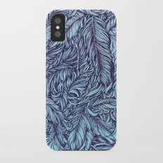 Feather story iPhone X Slim Case