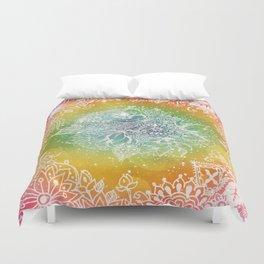 Rainbow Sherbet  Duvet Cover
