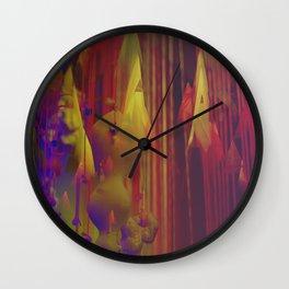 Technicolour Wall Clock