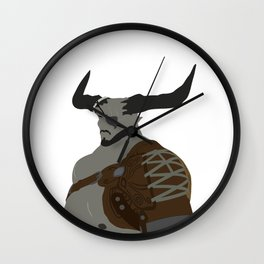 The Iron Bull Wall Clock