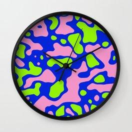 Camo 136 Wall Clock