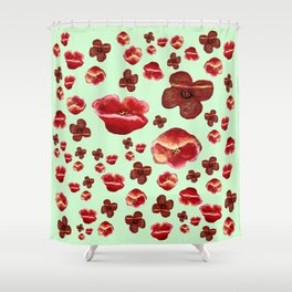 Poppies meadow Shower Curtain