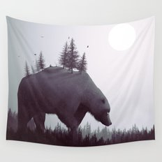 The Wanderer Wall Tapestry