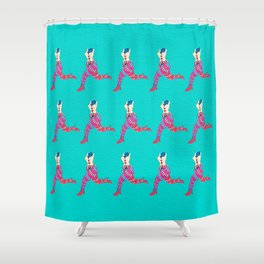 puppet legs Shower Curtain