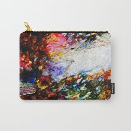 Julies Gems Abstract Carry-All Pouch