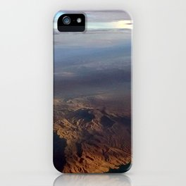 Mountains above iPhone Case