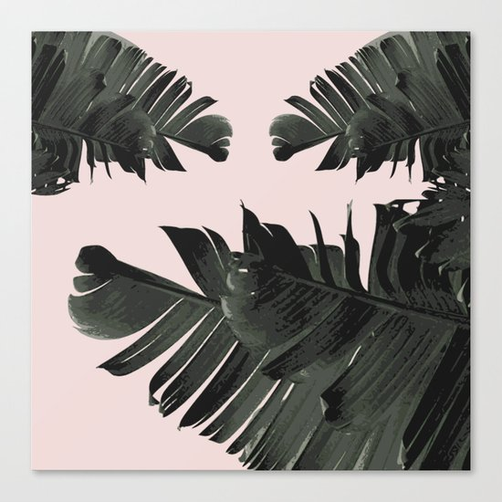 Palm grove Canvas Print