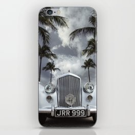 Vintage Car Photography | Palm Trees | California Vibes iPhone Skin