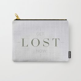 LOST 1. Carry-All Pouch