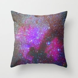 North America Nebula: Stars in the space. Throw Pillow