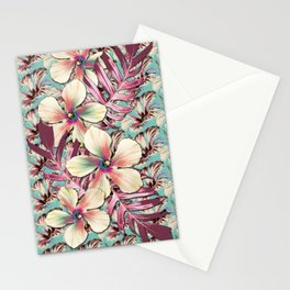 Vintage Hibiscus Ohana Stationery Cards