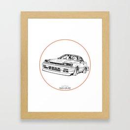 Crazy Car Art 0192 Framed Art Print