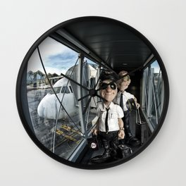 Returning to base Wall Clock