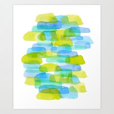 Watercolor 001 Art Print