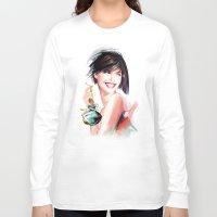 perfume Long Sleeve T-shirts featuring perfume by tatiana-teni