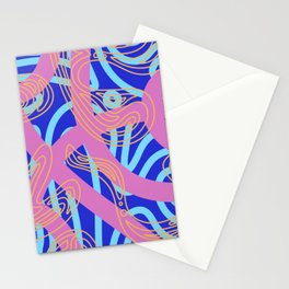 Blue and Pink Stationery Cards