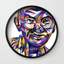 Legend of the fall – Ghandi Wall Clock