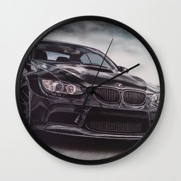 Sport Car Wall Clock