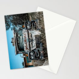 Apache Pickup Camper Relic of Route 66 in Tucumcari New Mexico Stationery Cards