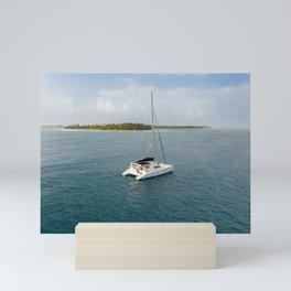 Sailing the San Blas islands | Travel Photography Mini Art Print