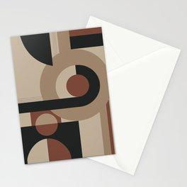 Geometric Pattern Neutral Stationery Cards