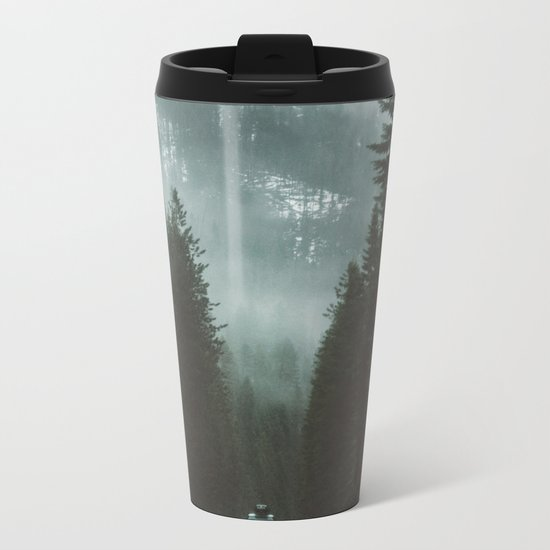 Wanderlust Is In My Blood Metal Travel Mug
