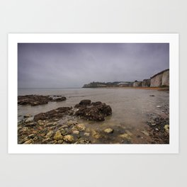 Kingsgate Bay Art Print