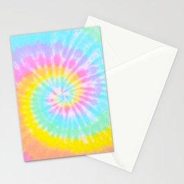 Tie Dye Rainbow Stationery Cards