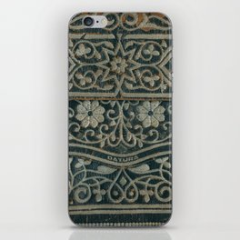 Embroidered iPhone Skin