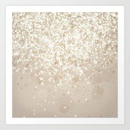 Glitteresques IV:VII Art Print